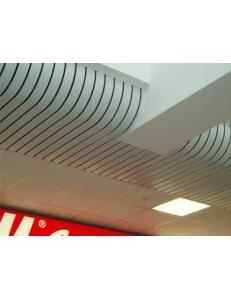 Криволинейные потолочные системы