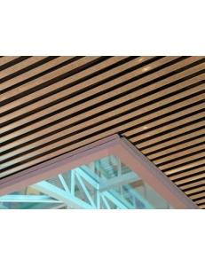 Металлическая потолочная рейка кубообразного дизайна