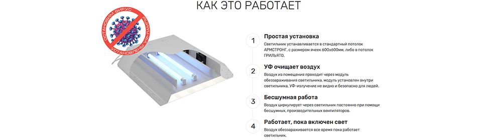 Купить светильник Антивирус